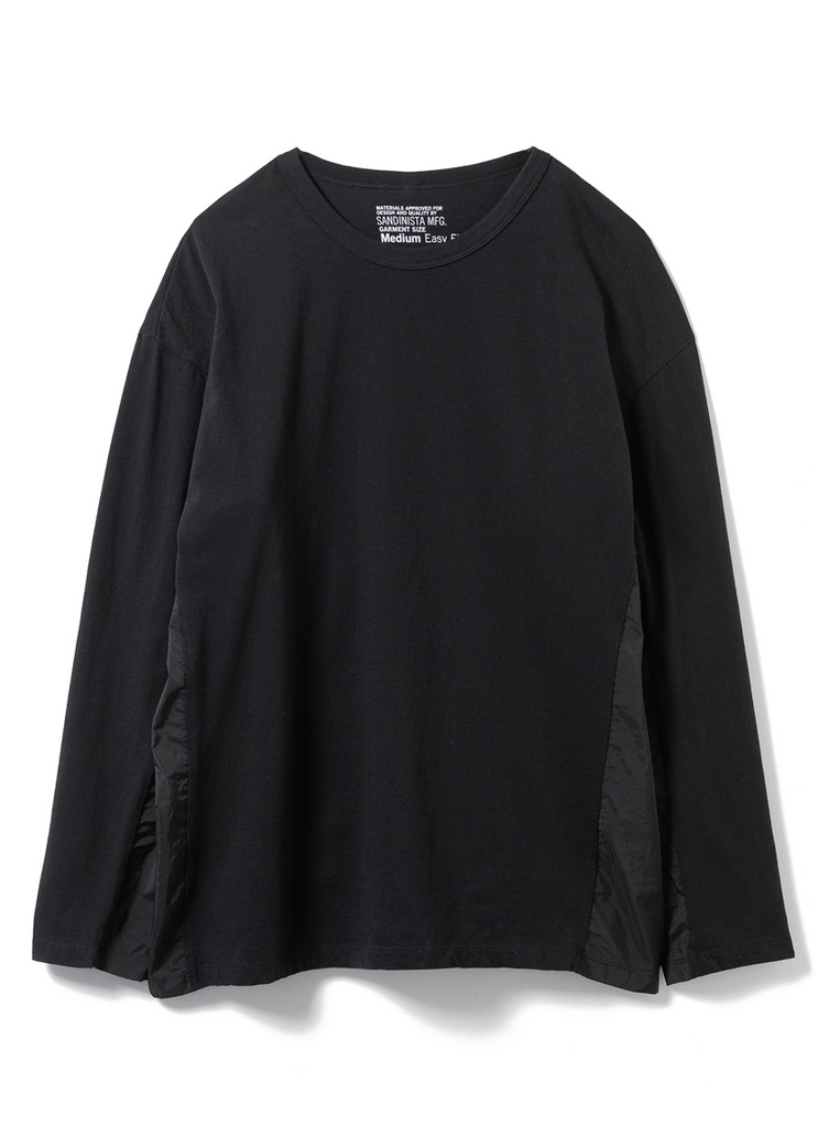 "Sandinista MFG ""Work out L/S Tee"" Black"