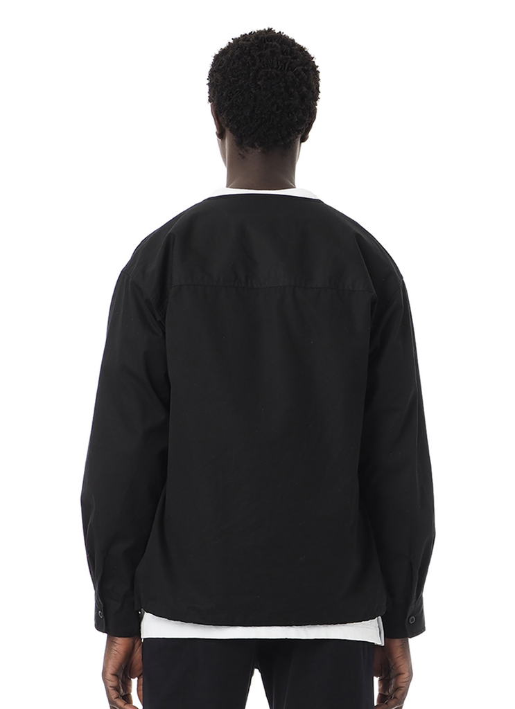 "Sandinista MFG ""VENTILE Military Shirt"" Black"