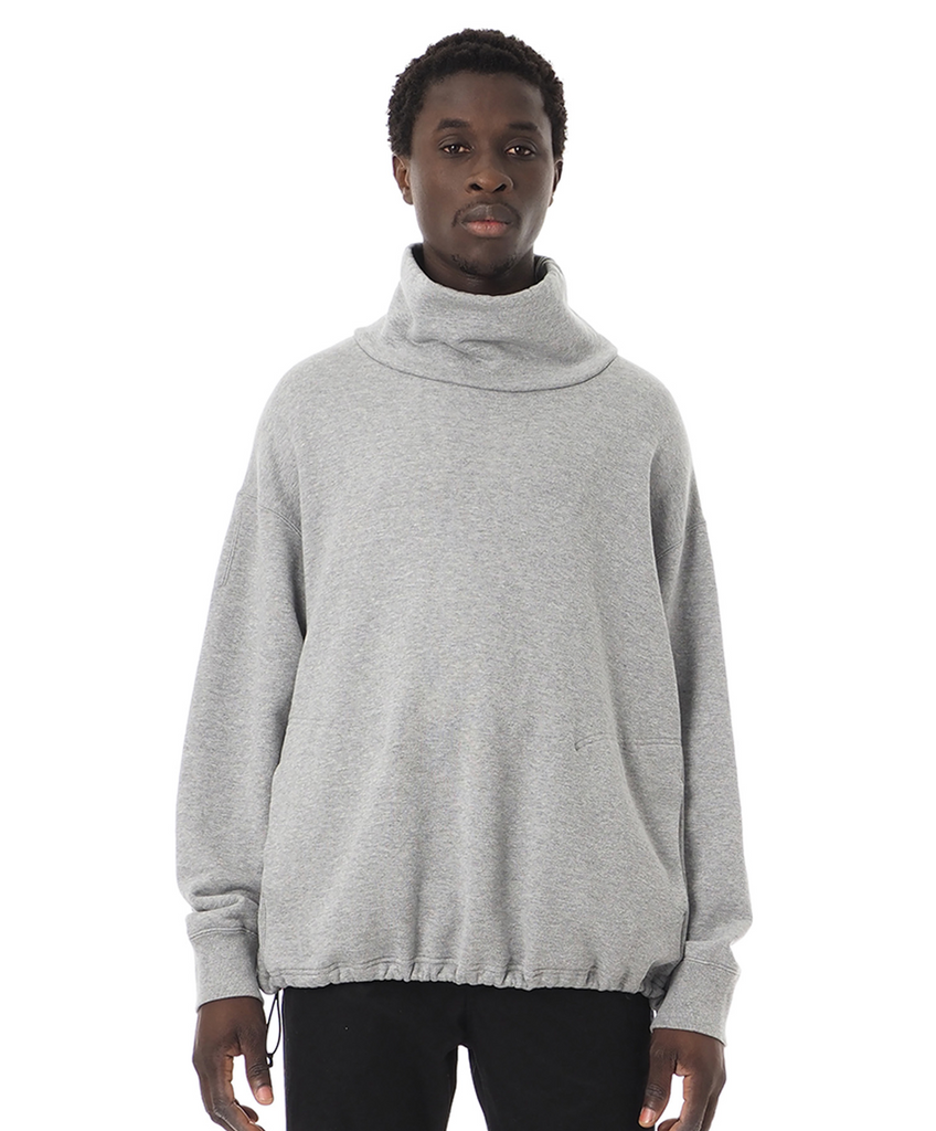 "Sandinista MFG ""Turtleneck Sweat Shirt"" Heather Gray"