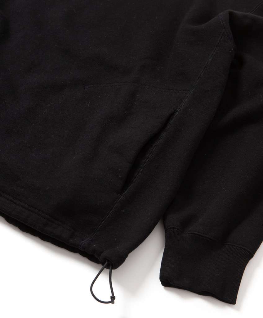 "Sandinista MFG ""Turtleneck Sweat Shirt"" Black"