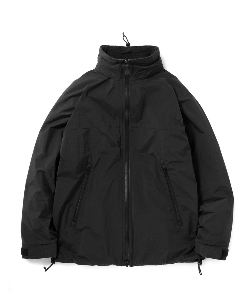 "Sandinista MFG ""Stretch Nylon Fleece Jacket"" Black"