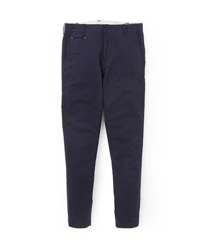 "Sandinista MFG ""B.C Chino Stretch Pants -Tapered-"" Navy"