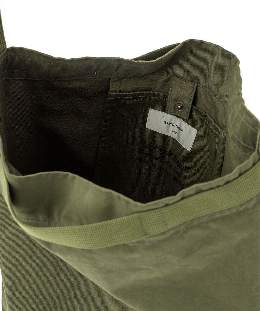 "Sandinista MFG ""Chino Daily Shoulder Bag"" Olive"