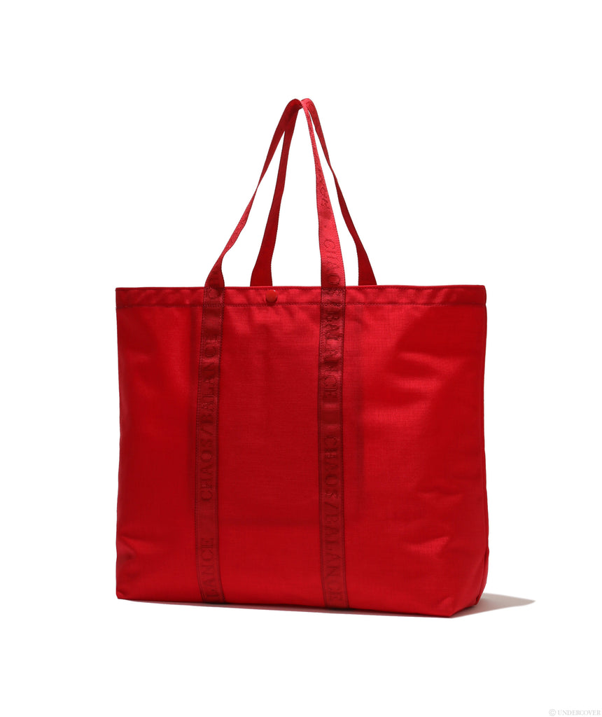 "UNDERCOVER ""UCZ4B11 Logo Nylon Tote Bag"" Red"