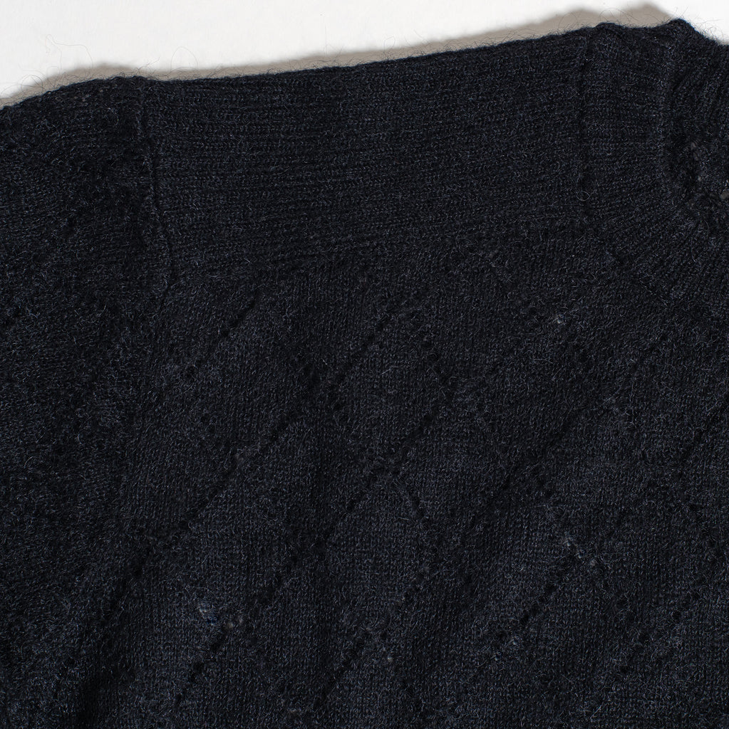 "UNDERCOVER ""Mohair Knit"" Black"