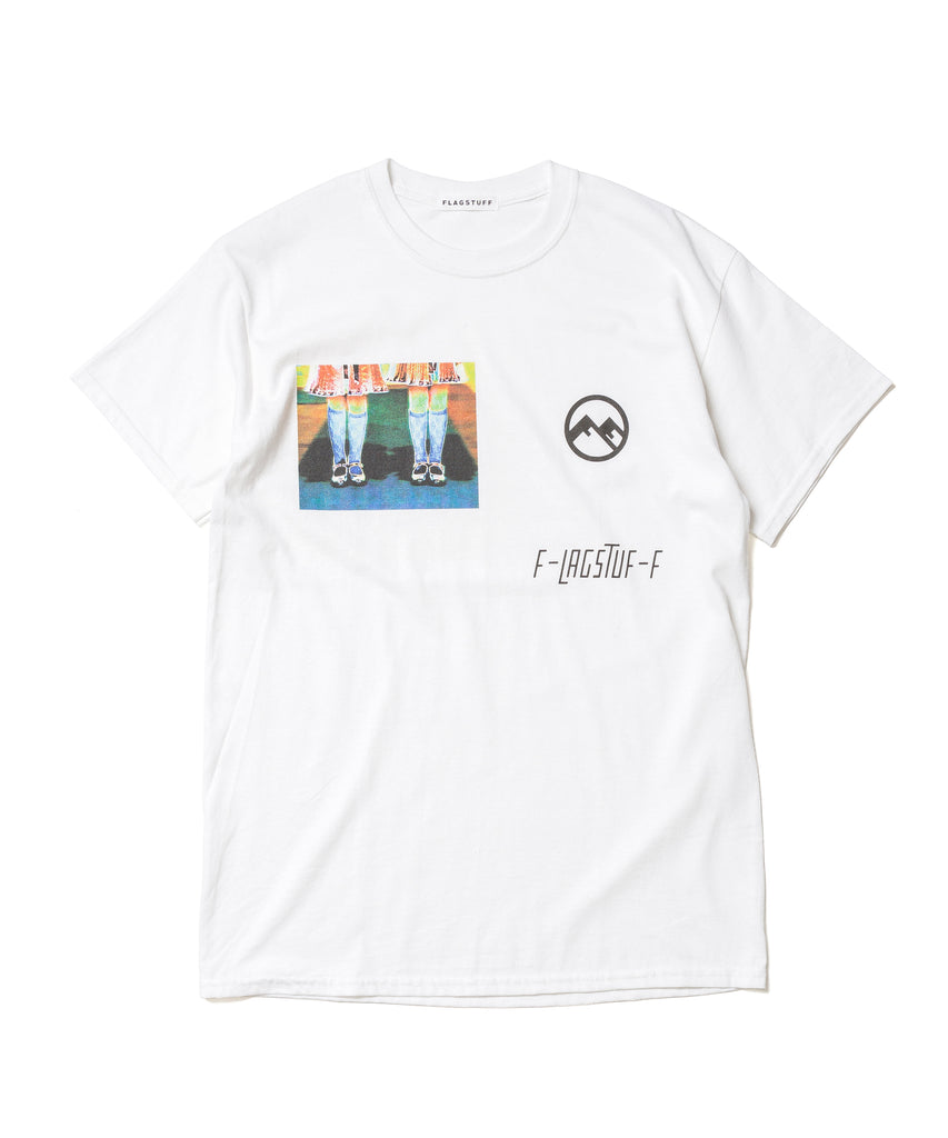 "Flagstuff ""Twin S/S Tee"" White"