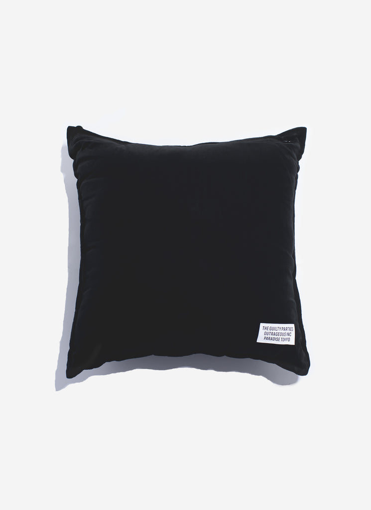 "WACKO MARIA ""Velour Pillow"" Black"