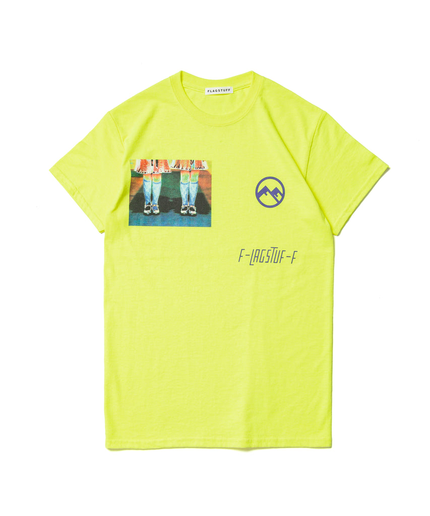 "Flagstuff ""Twin S/S Tee"" Yellow"