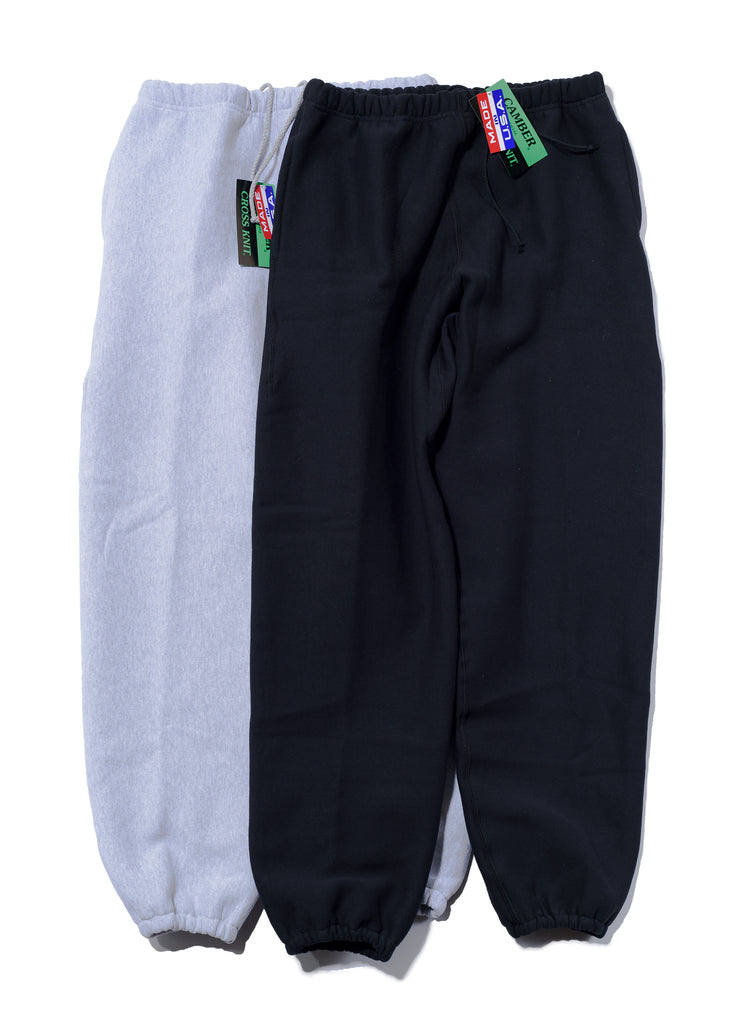 "CAMBER ""Heavy Weight/12oz Sweat Pants"" Gray"