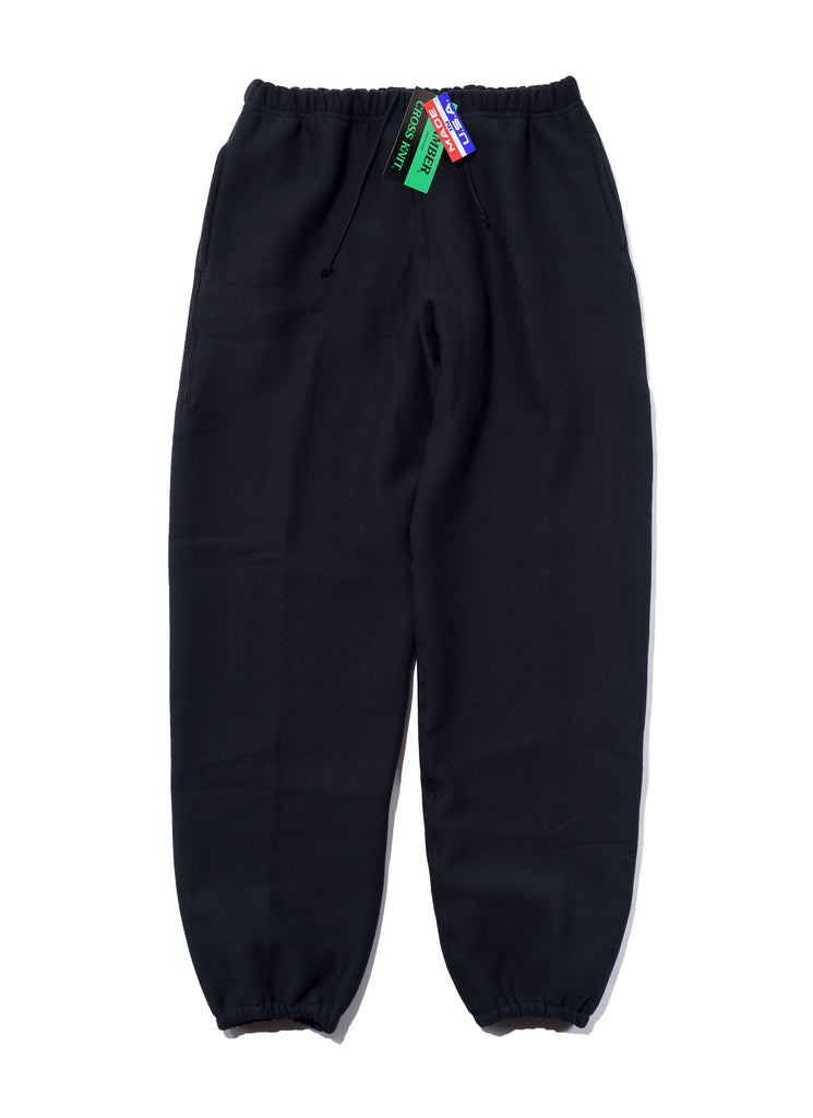 "CAMBER ""Heavy Weight/12oz Sweat Pants"" Black"