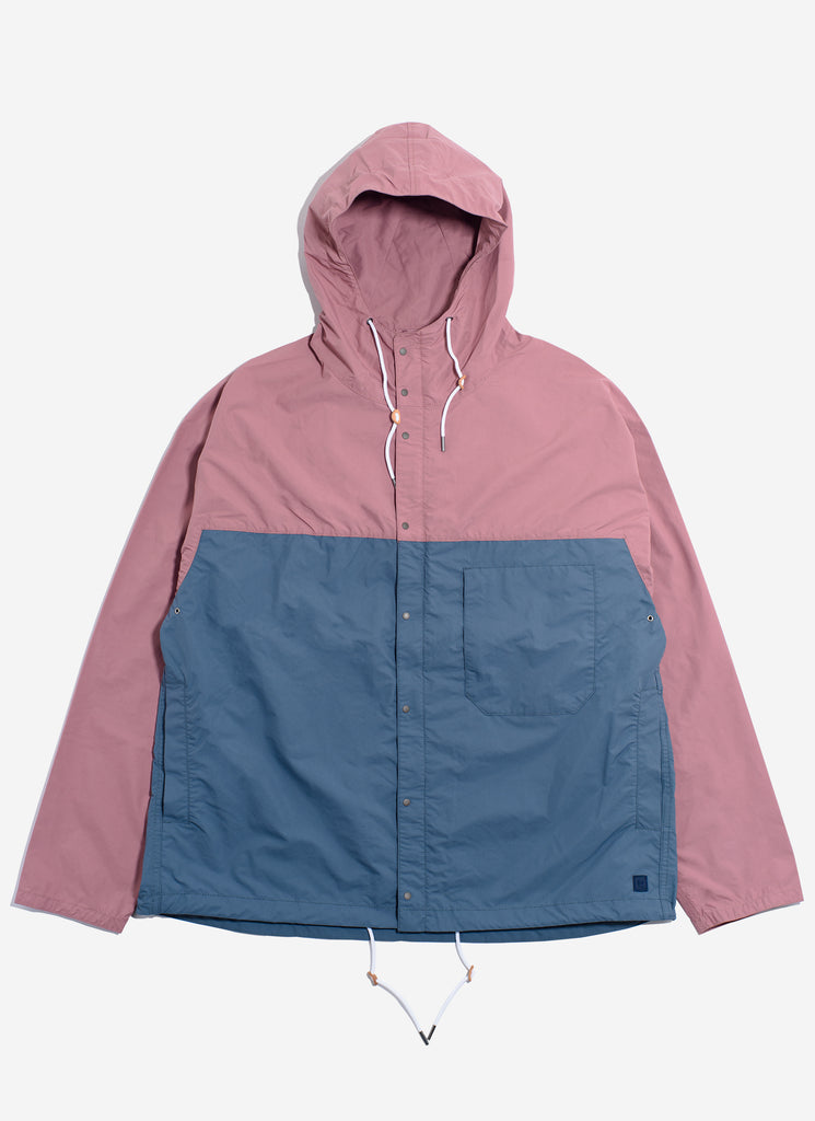 "nanamica ""nanamican Cruiser Jacket"" Pink x Blue"