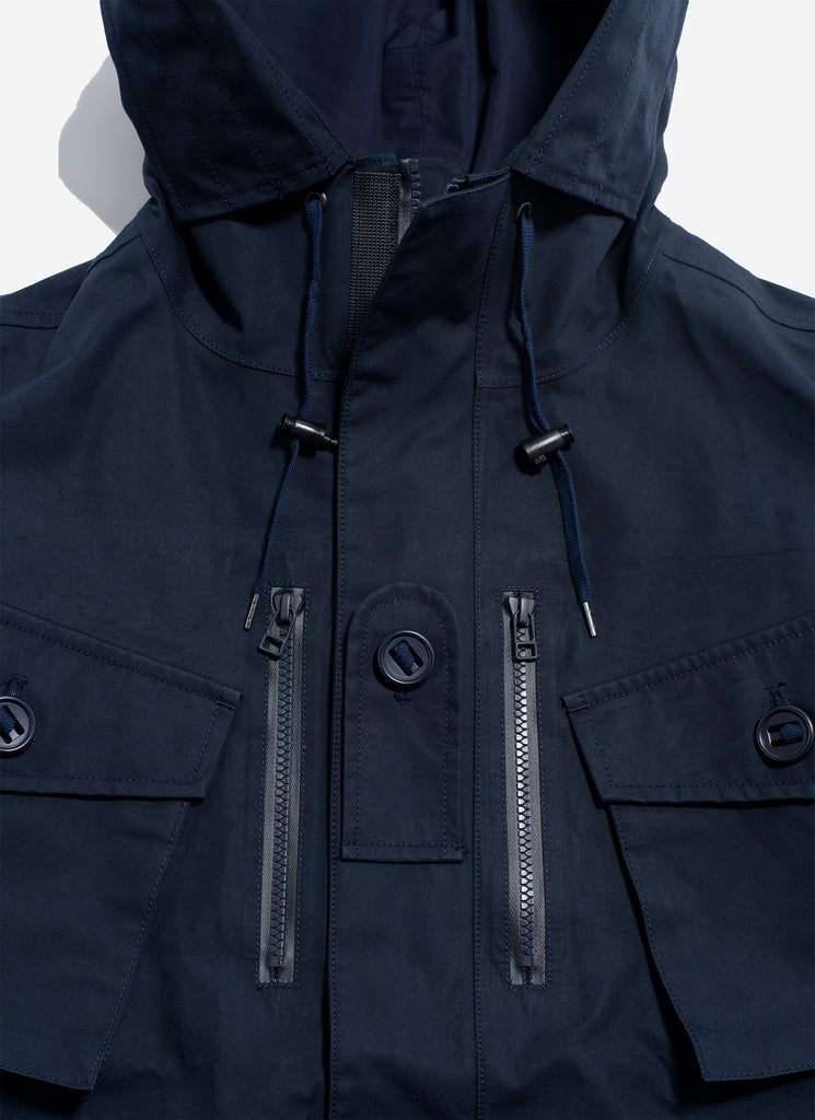"nanamica ""3 Layer GORE-TEX Cruiser Jacket"" Dark Navy"