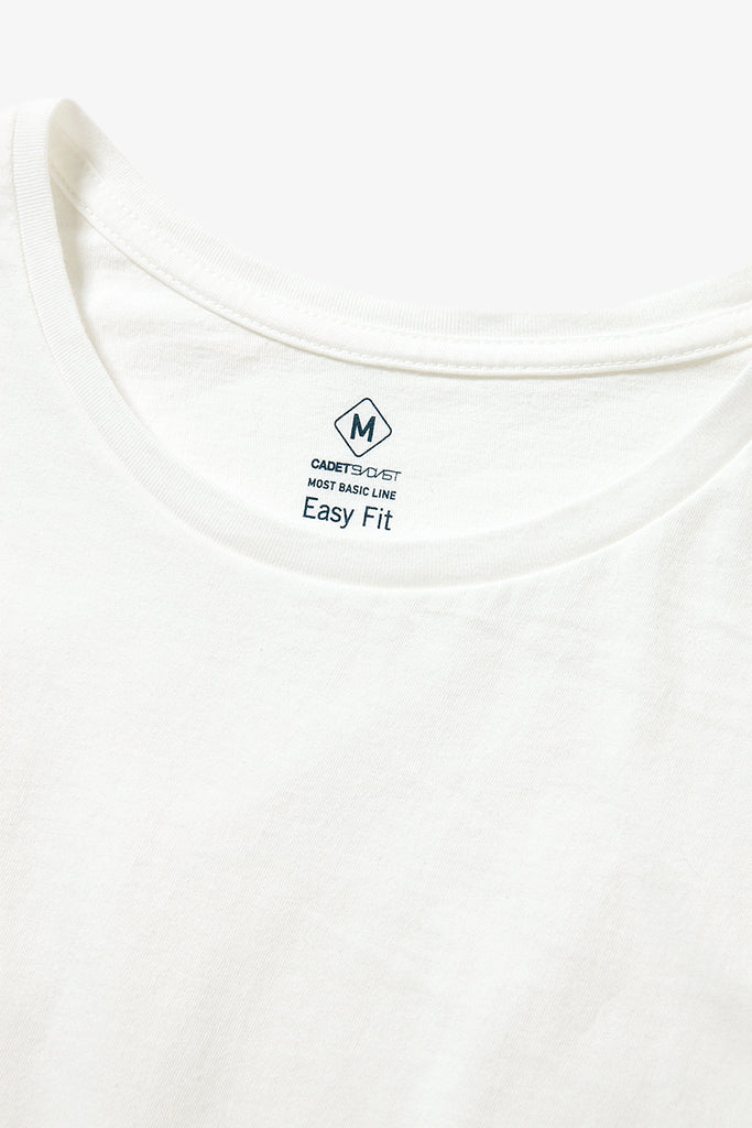 "Sandinista MFG ""Cadet Easy Fit Tee"" White"