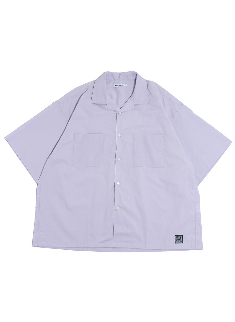 "Flagstuff ""S/S Big Boxy Shirt"" Purple"