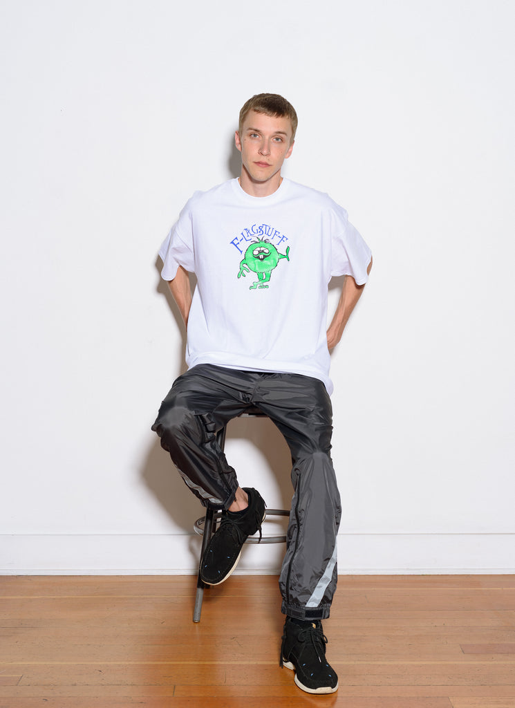 "Flagstuff ""Monster S/S Tee"" White"