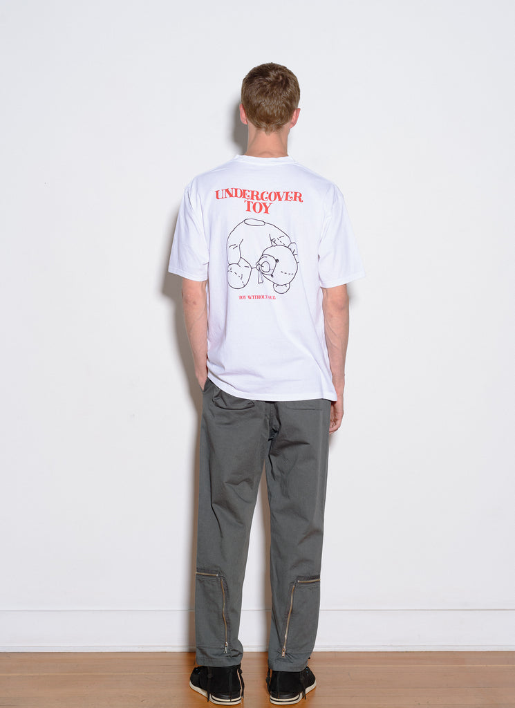 "UNDERCOVER ""UNDERCOVER TOY S/S Tee"" White"