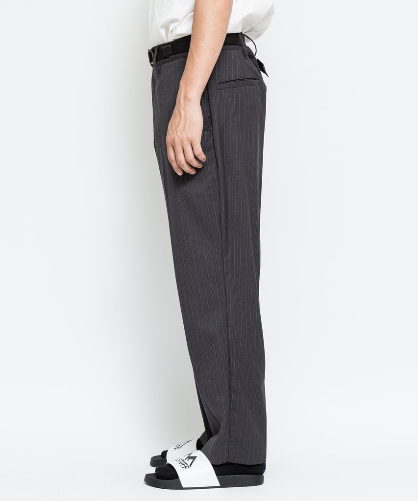 "Flagstuff ""Loose ST Pants"" Black Stripe"