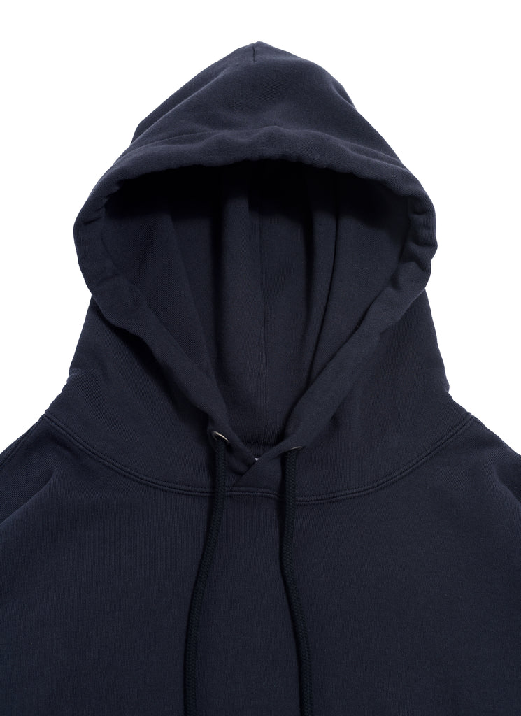 "nanamica ""Hooded Pullover Shirt"" Navy"