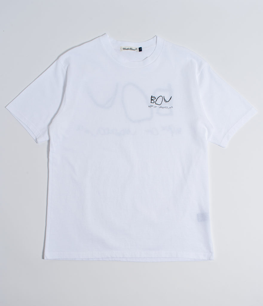 "UNDERCOVER ""BOU Tee"" White"