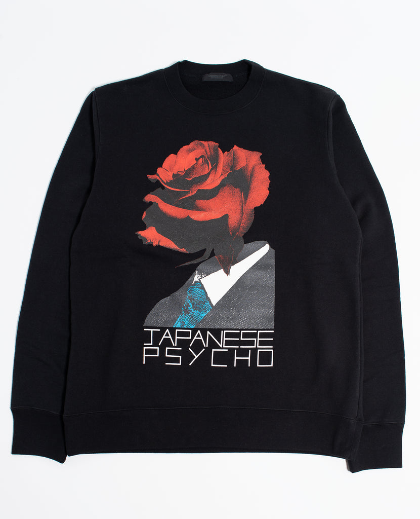 "UNDERCOVER ""Japanese Psycho Sweat Shirt"" Black"