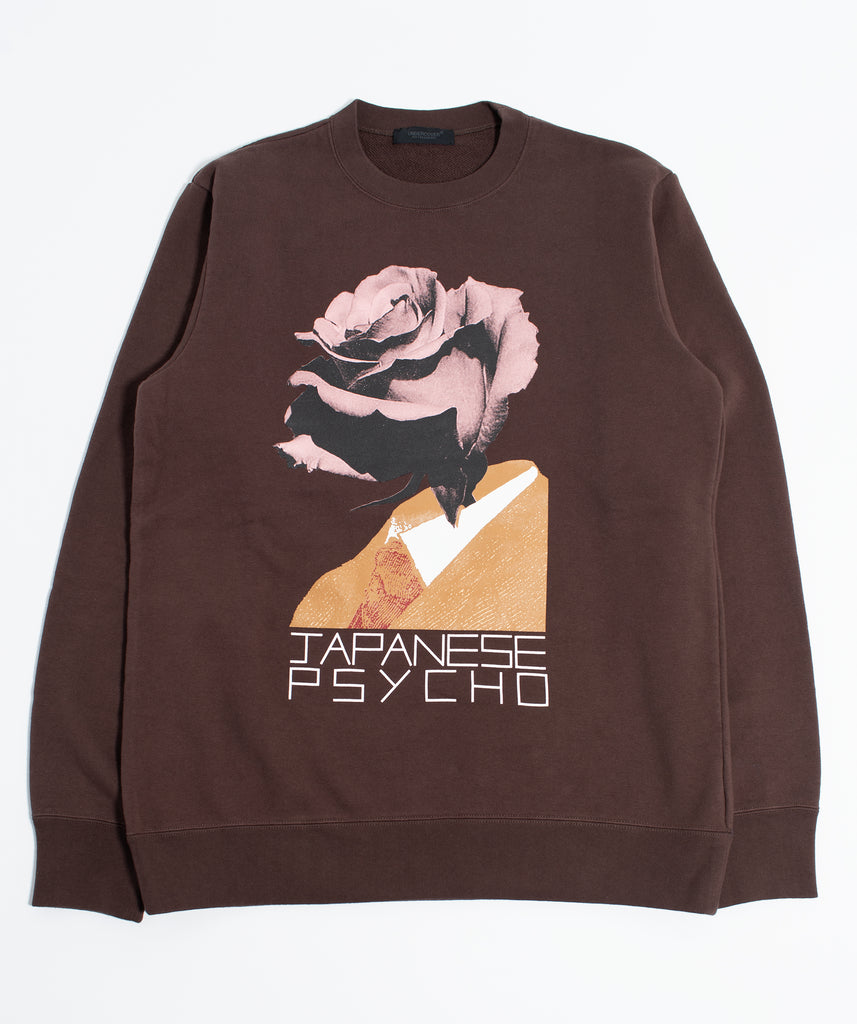 "UNDERCOVER ""Japanese Psycho Sweat Shirt"" Brown"