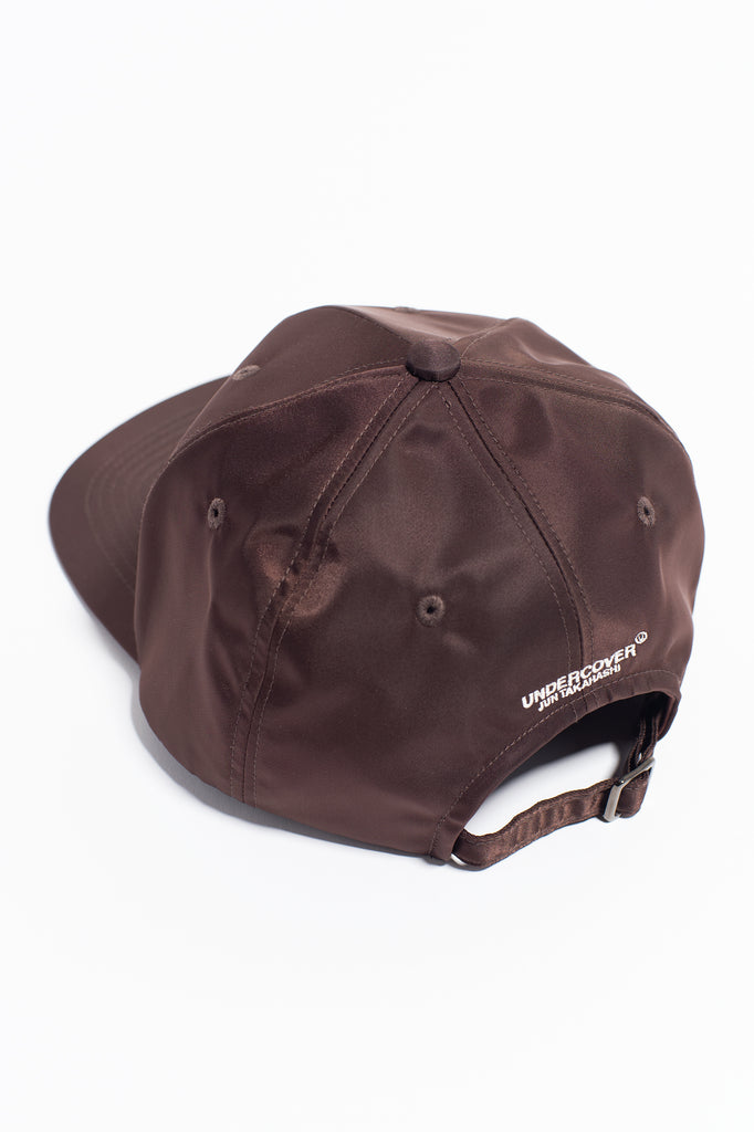 "UNDERCOVER ""Future is the Past Hat"" Dark Brown"