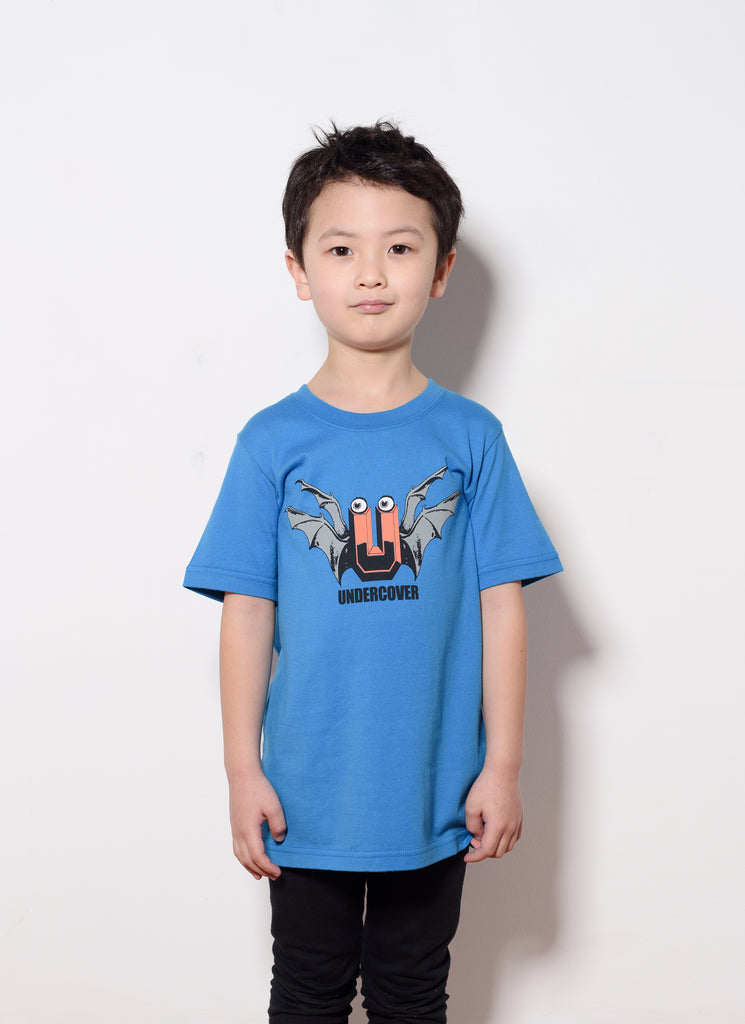 "UNDERCOVER ""Kids Tee-UC1A5803"" Blue"