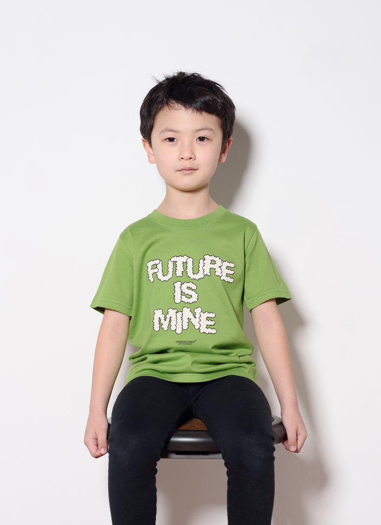"UNDERCOVER ""Kids Tee-UC1A5802"" Light Green"