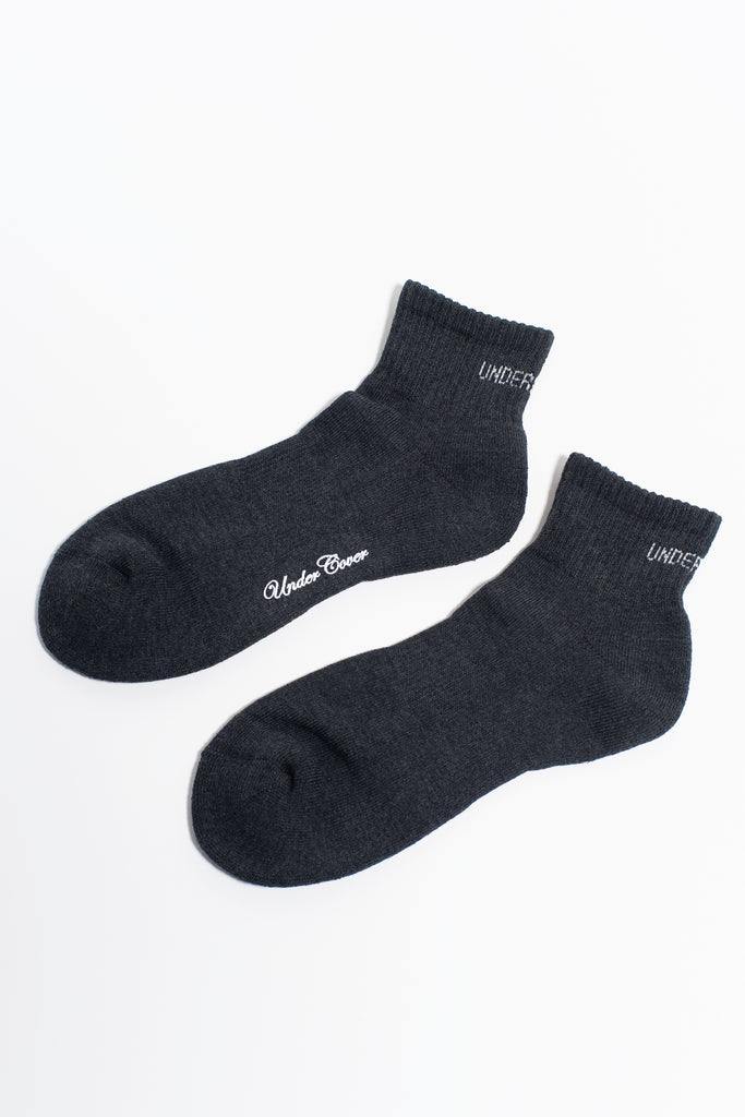 "UNDERCOVER ""Socks"" Charcoal"