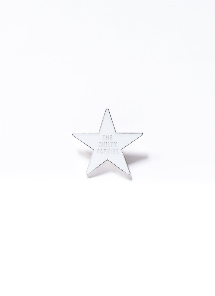 "WACKO MARIA ""Pin-Star"" White"