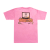 Hot Couch Nation T-Shirt - Pink