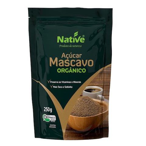 Açúcar mascavo Native (250g)