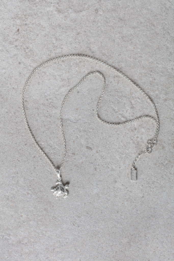 Hawksbill turtle necklace