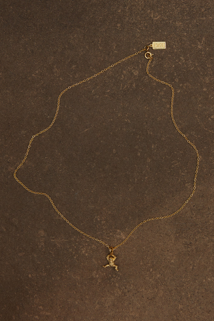 Borneo orangutan necklace