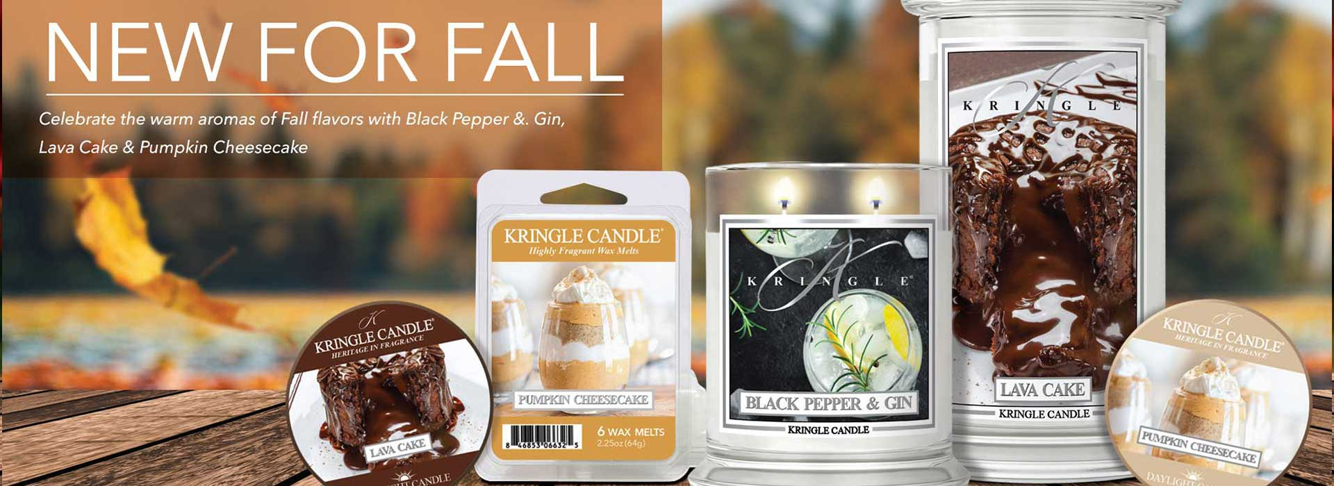 Country Candle Florals Collection