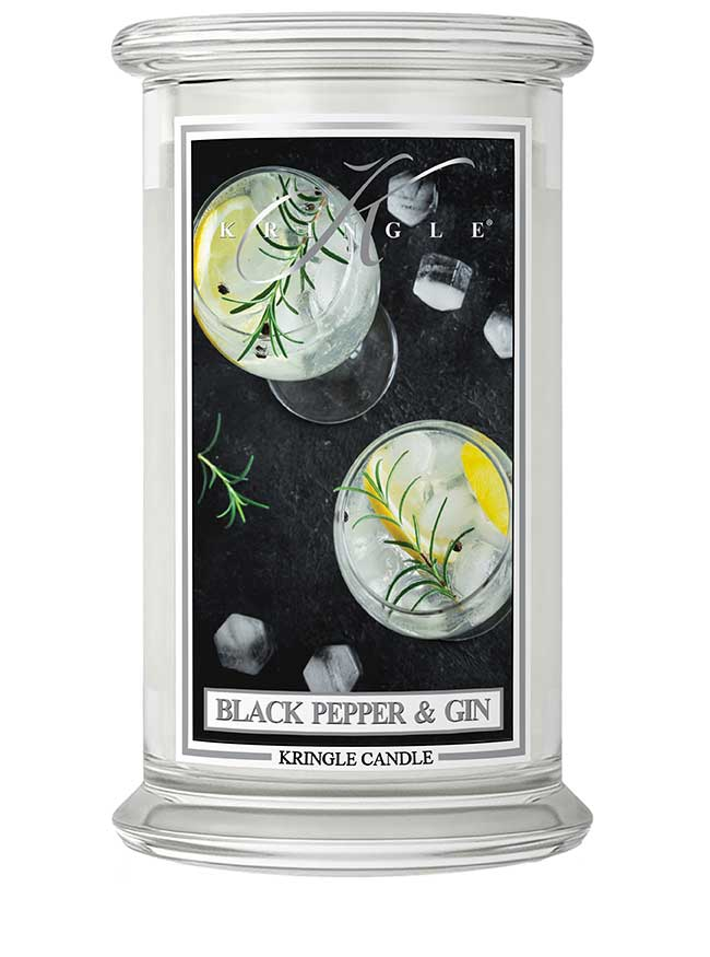 Black Pepper & Gin New!