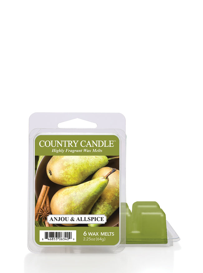 Anjou & Allspice Wax Melt New! | Country Candle - Kringle Candle Store