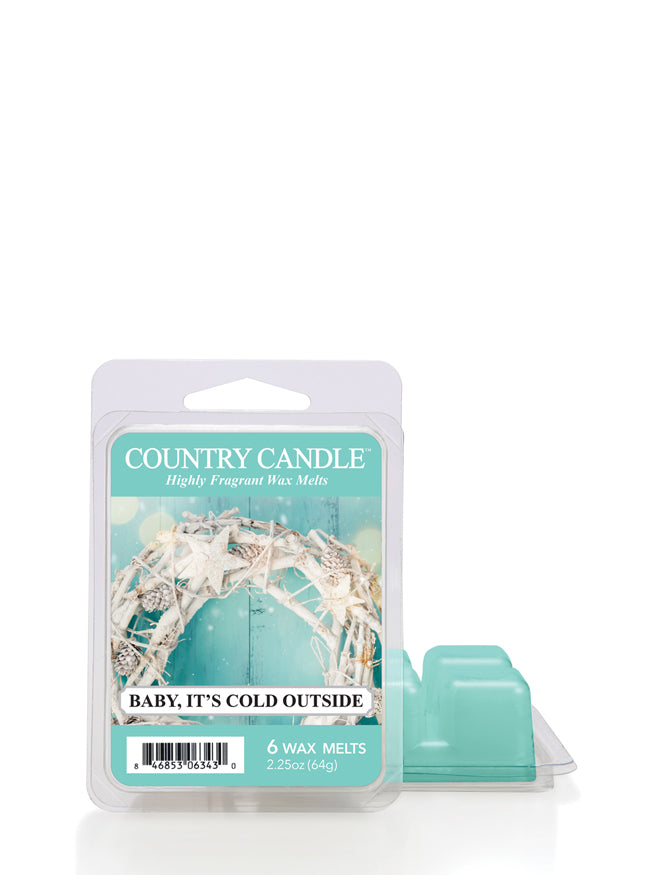Baby It's Cold Outside Wax Melt Country Candle - Kringle Candle Store