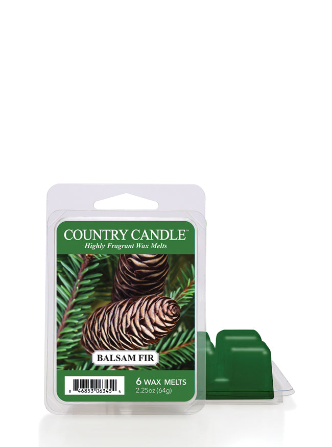 Balsam Fir Wax Melt Country Candle - Kringle Candle Store