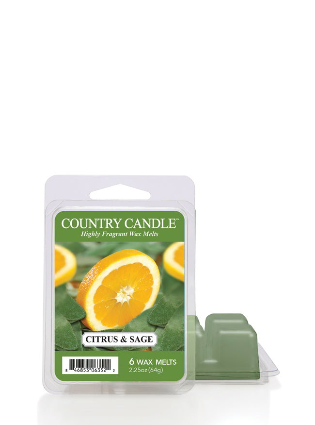 Citrus & Sage Wax Melt - Kringle Candle Store
