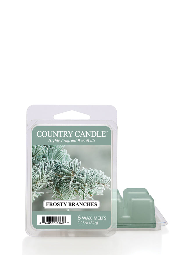 Frosty Branches Wax Melt | Country Candle - Kringle Candle Store