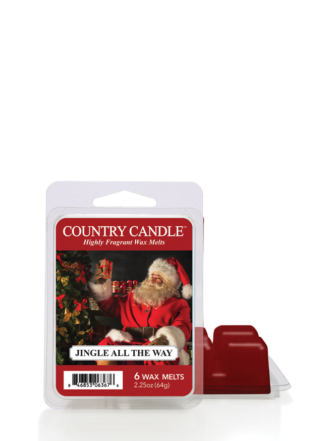Jingle All the Way Wax Melt Country Candle - Kringle Candle Store