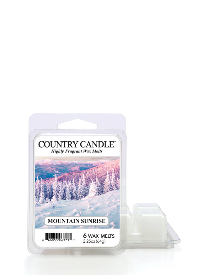 Mountain Sunrise Wax Melt Country Candle