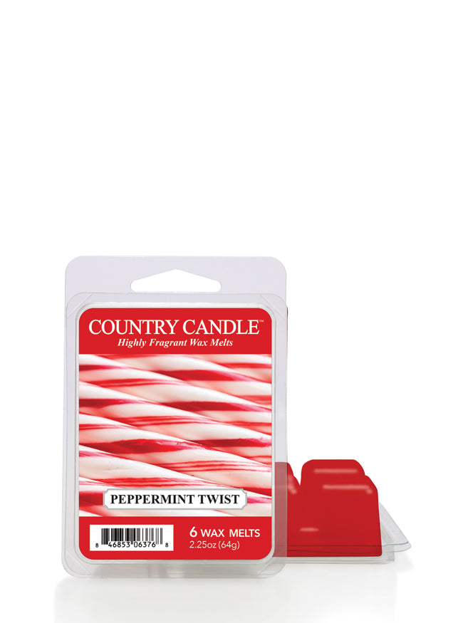 Peppermint Twist Wax Melt Country Candle
