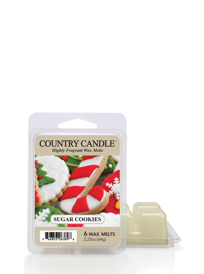 Sugar Cookies Wax Melt Country Candle - Kringle Candle Store