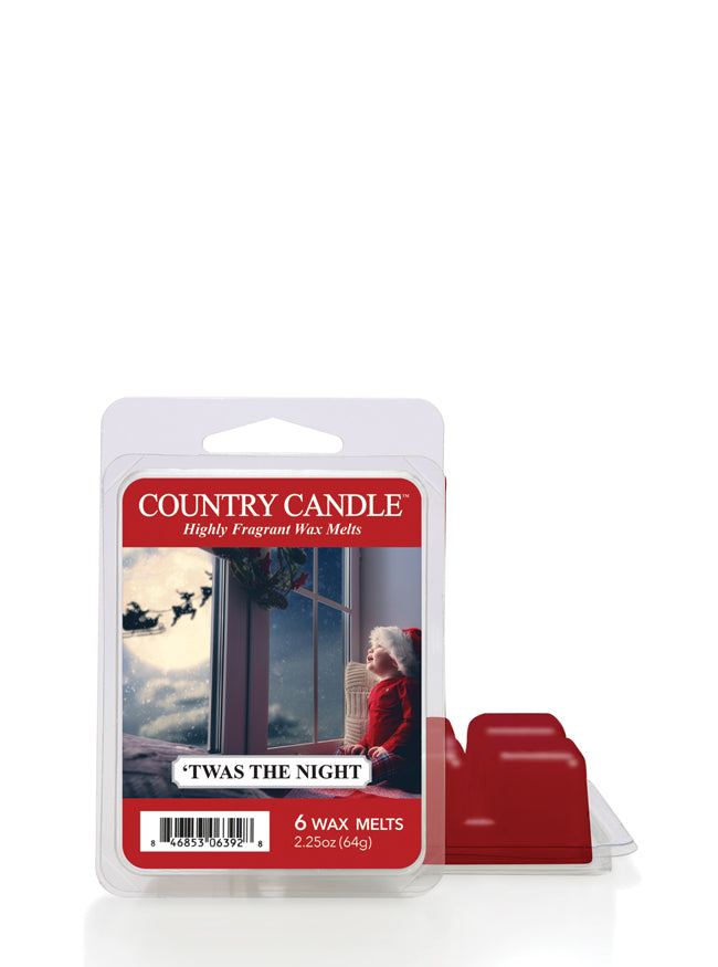'Twas the Night Wax Melt Country Candle - Kringle Candle Store