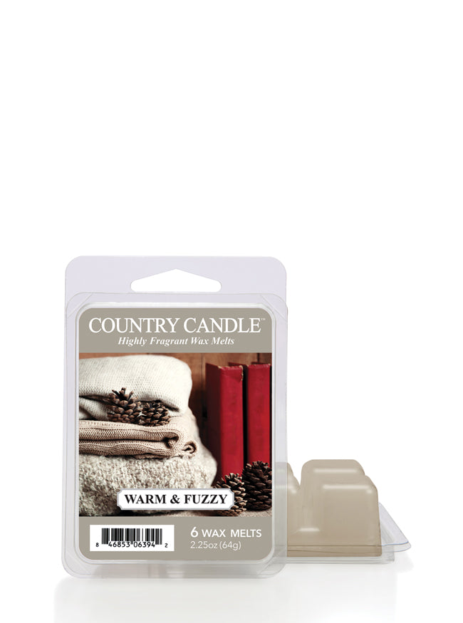 Warm & Fuzzy Wax Melt | Country Candle