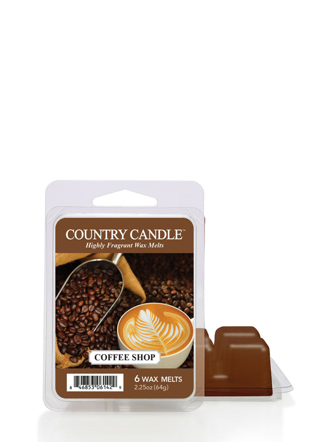 Coffee Shop Wax Melt - Kringle Candle Store