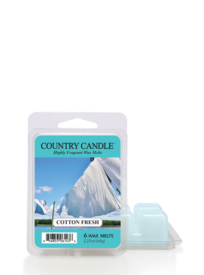 Cotton Fresh Wax Melt - Kringle Candle Store