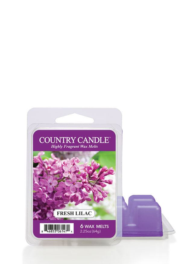 Fresh Lilac Wax Melt | Country Candle - Kringle Candle Store